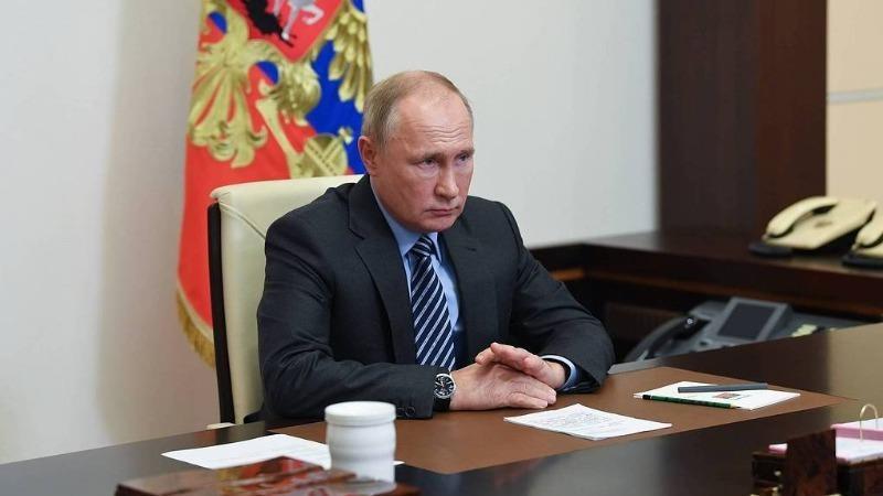 Tổng thống Nga Vladimir Putin. Ảnh: Alexey Nikolsky/ TASS