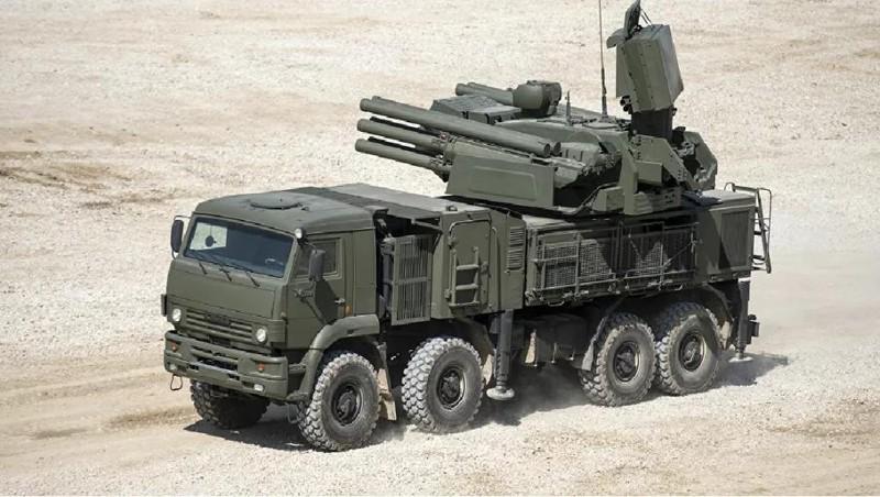 Tổ hợp pháo – tên lửa phòng không Pantsir-S. Ảnh: Sputnik/Evgeniy Biyatov