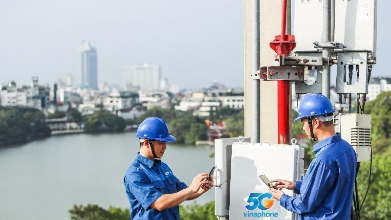VinaPhone là nhà mạng đầu tiên phát sóng 5G thương mại ở cả Hà Nội và TP.HCM.