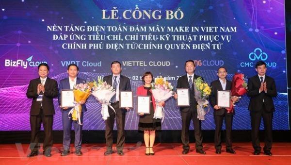 Công bố 5 nền tảng điện toán đám mây Make in Việt Nam đáp ứng tiêu chuẩn phục vụ Chính phủ điện tử