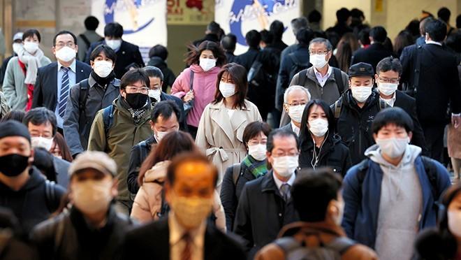 Chính quyền tỉnh Osaka yêu cầu người dân hạn chế đi lại khi không cần thiết.