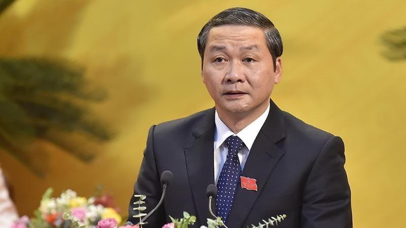 Tân Chủ tịch UBND tỉnh Thanh Hoá Đỗ Minh Tuấn. Ảnh: Lê Hoàng/VNE