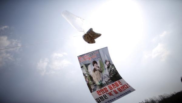 Hàn Quốc cấm rải truyền đơn chống Triều Tiên