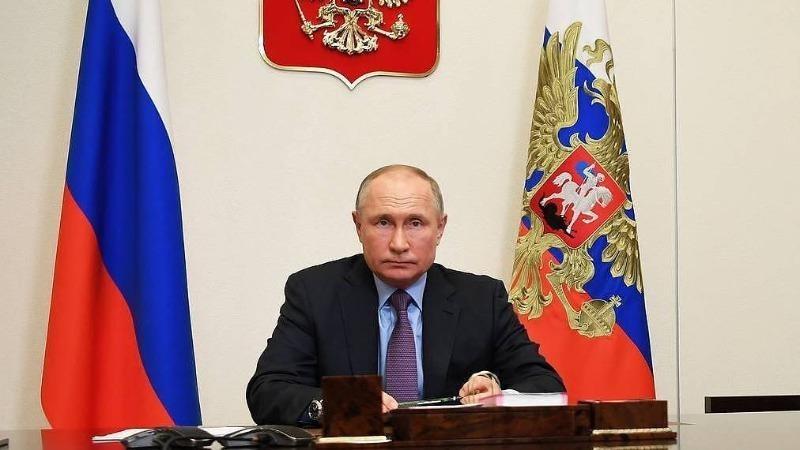 Tổng thống Nga Putin. Ảnh: Alexei Nikolsky/ TASS