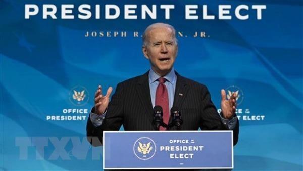 Tổng thống đắc cử Mỹ Joe Biden.
