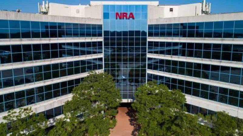 Trụ sở chính của NRA ở Fairfax, Virginia. NRA có khoảng 5 triệu thành viên. Ảnh: Jim Lo Scalzo/EPA