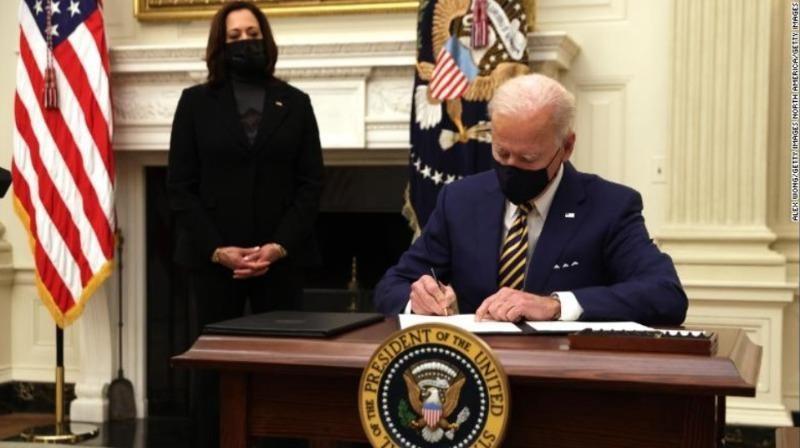 Tân Tổng thống Mỹ Joe Biden.