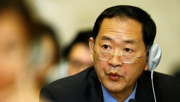 Đại sứ Triều Tiên tại Liên hợp quốc Han Tae-song. (Nguồn: ABC News)