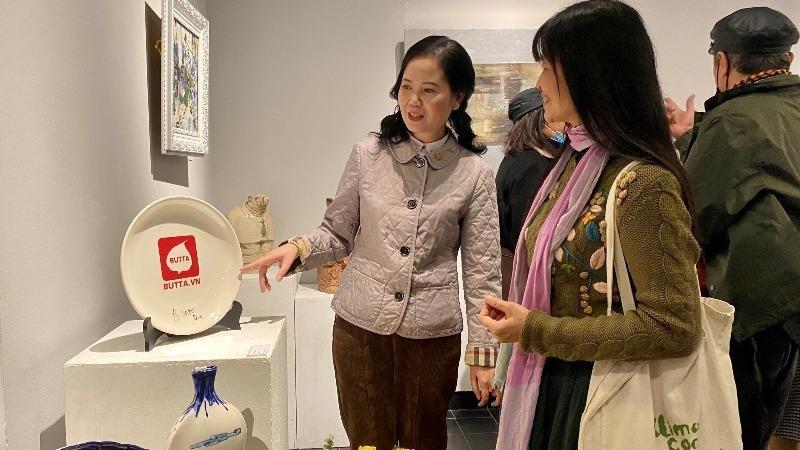 Mang thông điệp của Phật giáo tới triển lãm mỹ thuật Gốm Xuân 2021