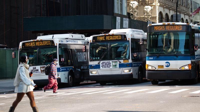 Từ 1/2, người Mỹ bắt buộc đeo khẩu trang trên các phương tiện giao thông công cộng