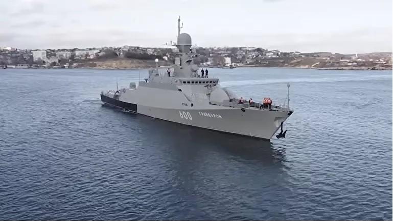 """Hạm đội Biển Đen có con tàu thứ tư trang bị """"Hỏa thần"""" Kalibr đối thủ đáng gờm của tên lửa Tomahawk"""
