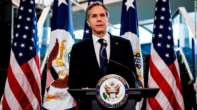 Ngoại trưởng Mỹ Antony Blinken  (Ảnh: Reuters)