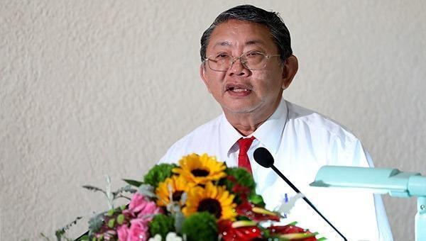 Bị can Phạm Văn Sáng thời điểm còn đương chức.