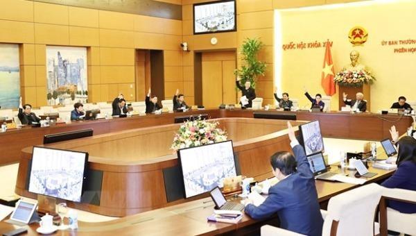 Ngày 22/2 diễn ra Phiên họp thứ 53 Ủy ban Thường vụ Quốc hội khóa XIV