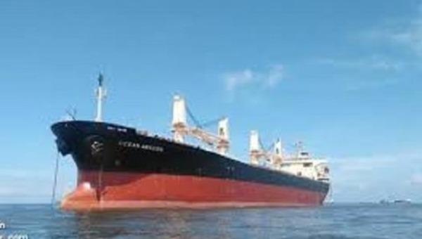 Tàu chở hàng có ca nhiễm COVID-19 xin chưa nhập cảnh vào Việt Nam