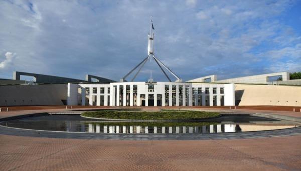 Tòa nhà Quốc hội Úc.