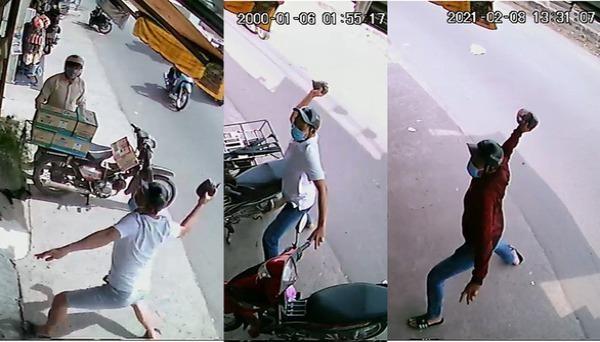 Thuê người tạt mắm tôm tiệm thuốc tây để đòi nợ, vợ chồng chủ nợ bị khởi tố