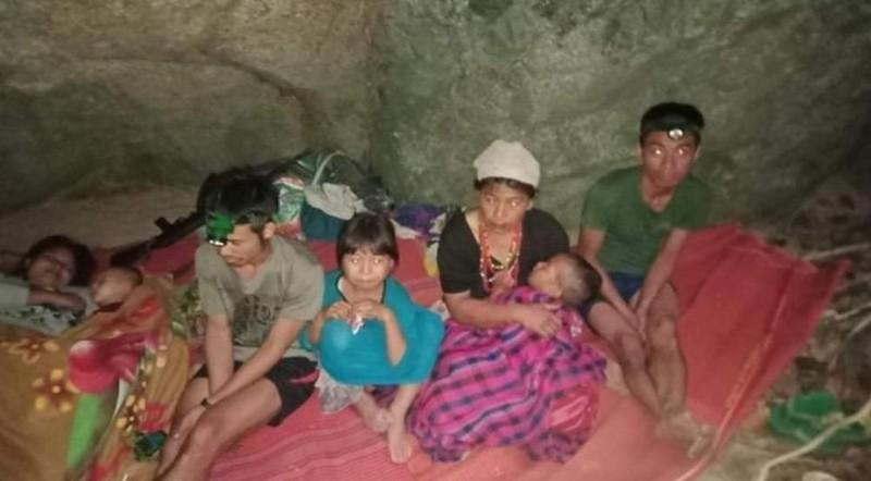 Hơn 3.000 người Myanmar chạy qua biên giới sang Thái Lan