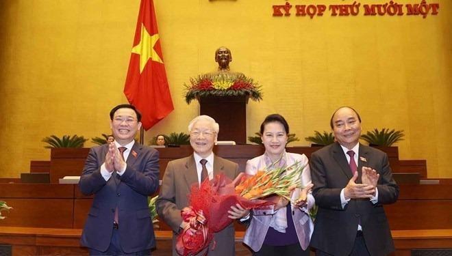 Quốc hội thông qua Nghị quyết miễn nhiệm Chủ tịch nước đối với ông Nguyễn Phú Trọng