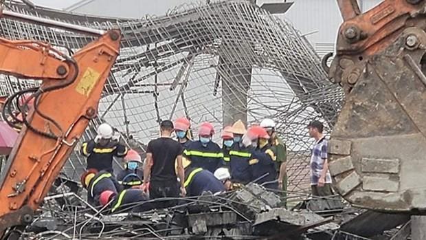 Hiện trường vụ tai nạn. (Nguồn: giadinh.net.vn)