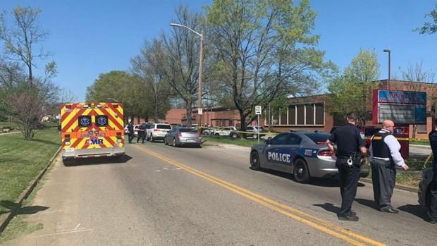 Khu vực trường Austin-East Magnet - nơi xảy ra vụ xả súng. (Nguồn: Cảnh sát Knoxville)