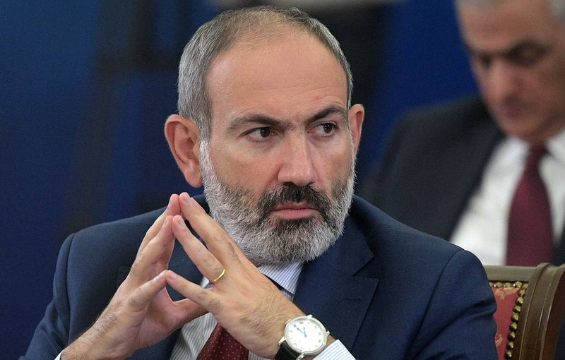 Thủ tướng Armenia Nikol Pashinyan. Ảnh: TASS.