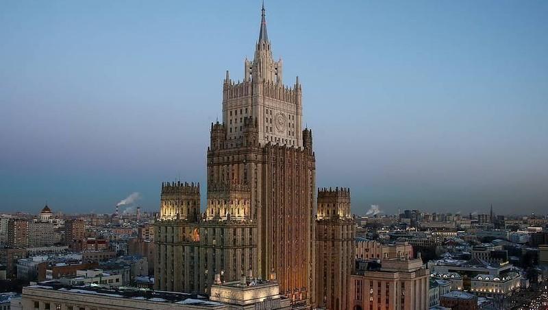 Văn phòng Bộ Ngoại giao Nga. Ảnh: TASS