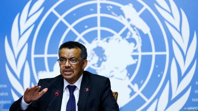 Tổng Giám đốc WHO Tedros Adhanom Ghebreyesus. Ảnh: Reuters.