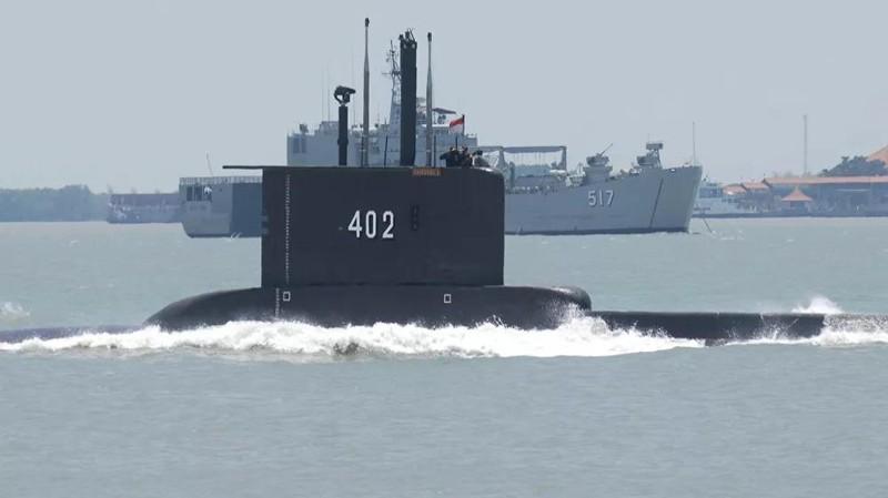 Tìm thấy tàu ngầm Indonesia mất tích gần vùng biển Bali