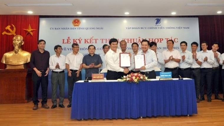Quảng Ngãi tiếp tục cùng VNPT xây dựng Chính quyền điện tử