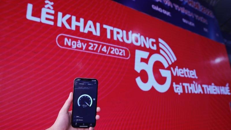 Khách hàng Viettel bắt đầu sử dụng được 5G trên các thiết bị iPhone