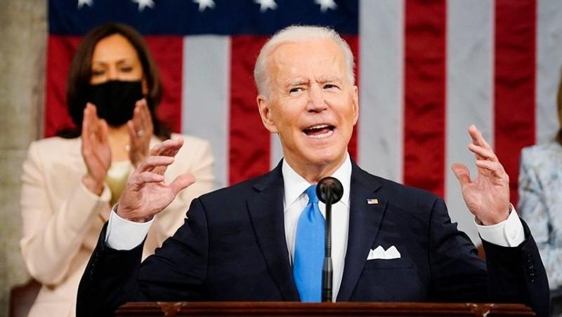 """Bài phát biểu đầu tiên của Tổng thống Biden trước Quốc hội: """"Nước Mỹ đã trở lại"""""""