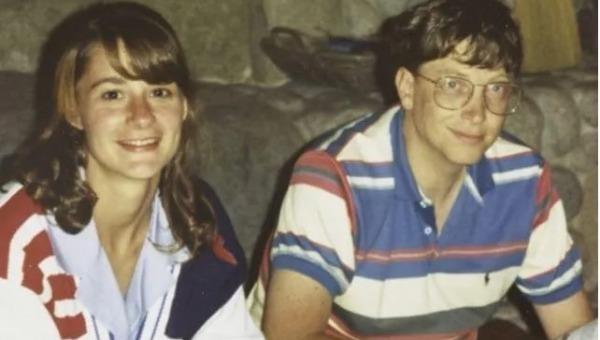 Melinda và Bill Gates.