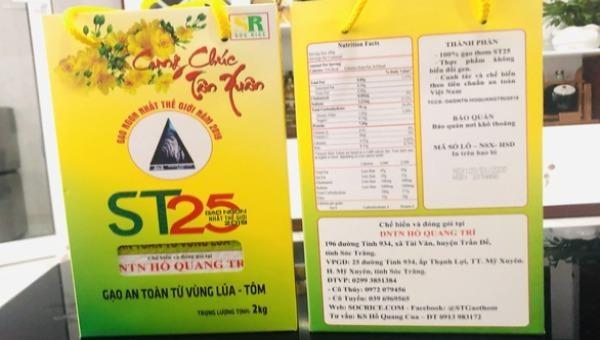 Luật sư đã nộp đơn đăng ký bảo hộ gạo ST24, ST25 ở Mỹ