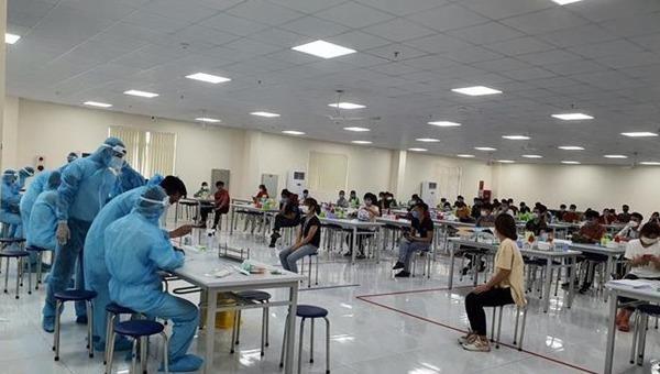 Bắc Giang ghi nhận 3 ổ dịch COVID-19 với 177 trường hợp dương tính
