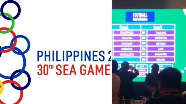 Kết quả bốc thăm bóng đá tại SEA Games 30