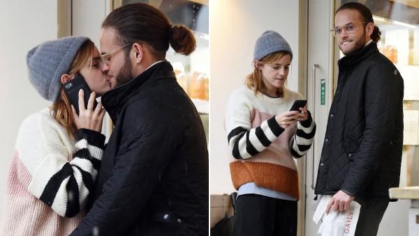 Emma Watson tình tứ bên chàng trai bí ẩn