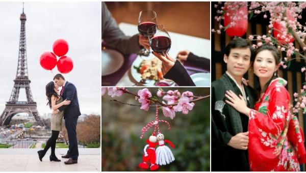 Độc đáo Valentine khắp thế giới