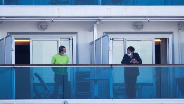 Số ca nhiễm Covid-19 trên tàu du lịch Diamond Princess lên 218 người