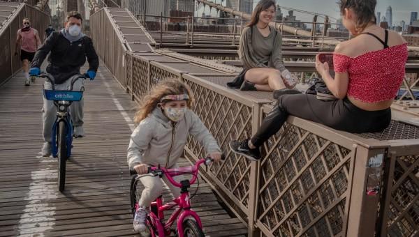 Một ngày hè New York giữa mùa dịch Covid-19
