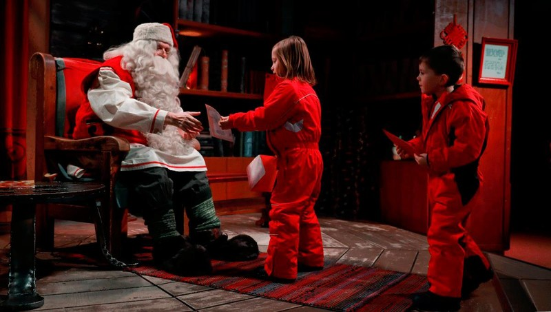 Ấn tượng hình ảnh Giáng sinh khắp thế giới