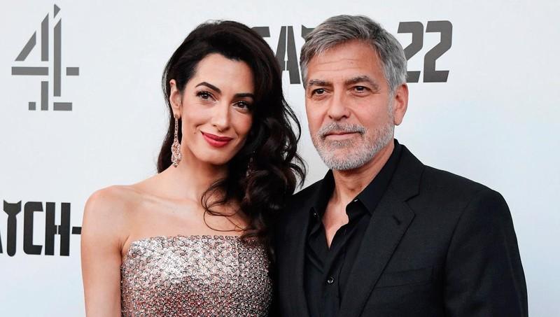 George Clooney  và Amal Clooney.