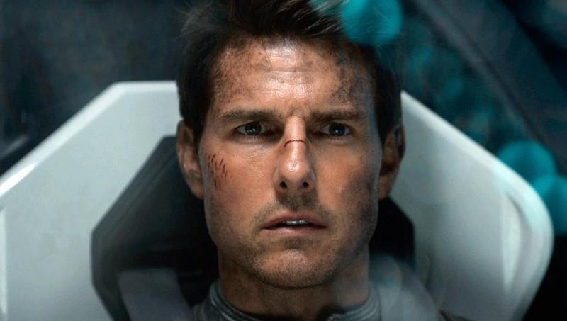 "Tom Cruise trong phim ""Oblivion"" năm 2013. Ảnh: Universal/Courtesy Everett Collection."