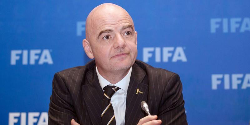 Chủ tịch FIFA xét nghiệm dương tính với Covid-19