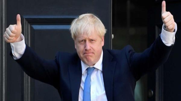 Thủ tướng Boris Johnson.