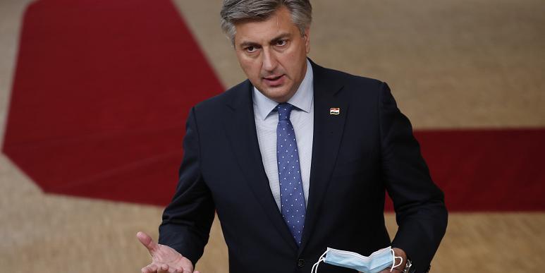 Thủ tướng Croatia Andrej Plenkovic. Ảnh: AP.