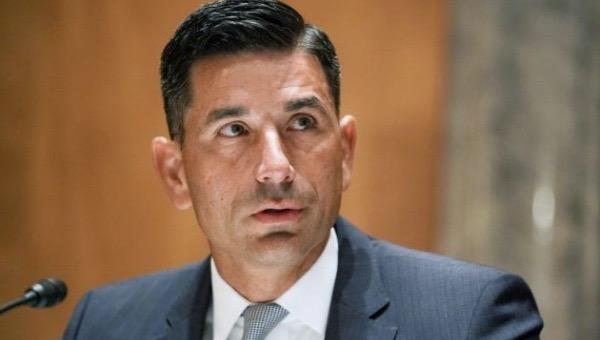 Ông Chad Wolf giữ chức quyền Bộ trưởng An ninh nội địa (DHS) Mỹ từ tháng 11/2019. Ảnh: AP.