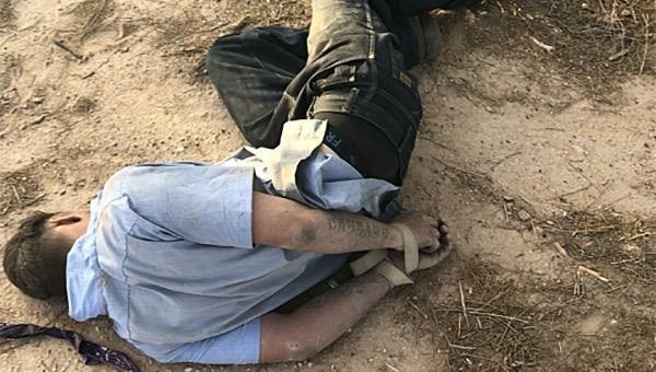 Brandon Soules khi được tìm thấy tại hiện trường.