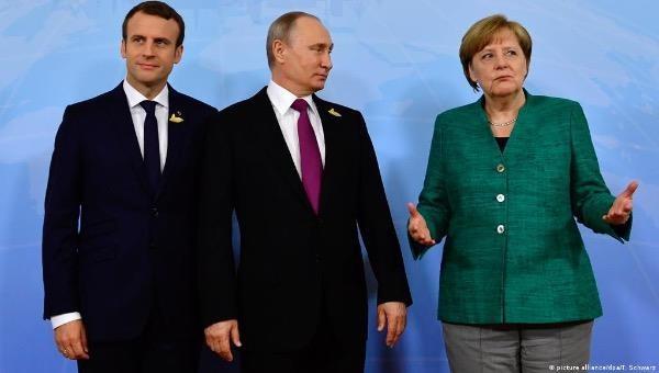 Nga, Pháp và Đức thảo luận về các vấn đề quốc tế