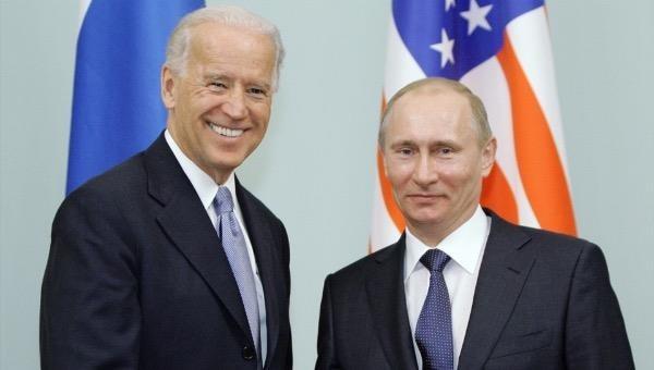 Tổng thống Mỹ Joe Biden và Tổng thống Nga Vladimir Putin.